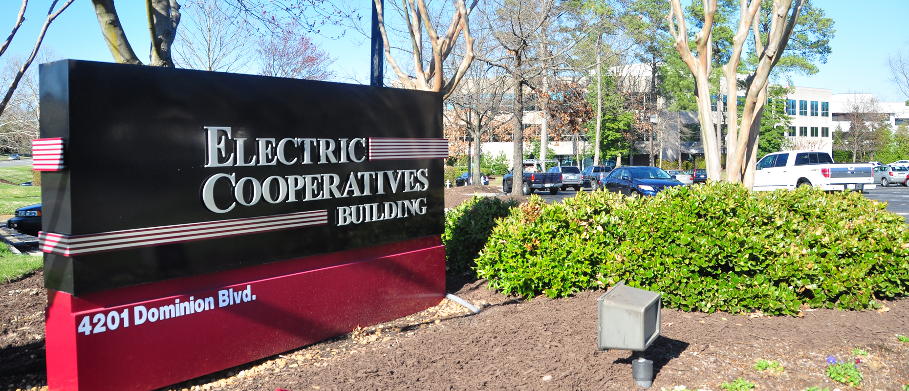 Electric Cooperatives Building Sign